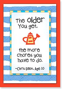 Birthday Card - All Play Makes For a Happy Birthday! | Kate Harper | 21564 | Leanin' Tree