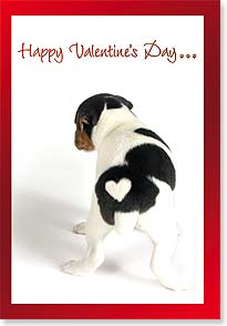 Valentine's Day Card - From the bottom of my heart & the heart of my bottom... - 21660 | Leanin' Tree