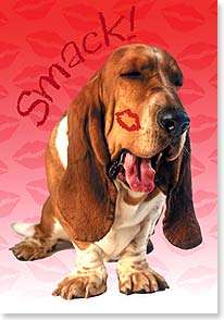 Valentine's Day Card - Smack!  Bring on the love! | Harvey Gariety | 21661 | Leanin' Tree
