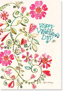 Valentine's Day Card - My heart smiles at the thought of you.  | Robbin Rawlings | 21671 | Leanin' Tree