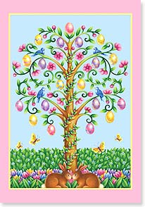 Easter Card - Wishing you a blossoming, beautiful Easter. | Janet Amendola | 21692 | Leanin' Tree