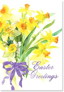 Easter Card - Best wishes for a bright and beautiful spring. | Gail Flores | 21693 | Leanin' Tree