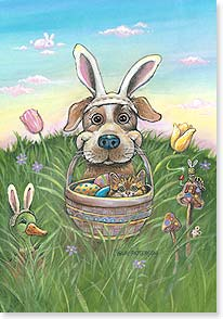 Easter Card - 'Ears to a Happy Easter! | Gary Patterson | 21694 | Leanin' Tree
