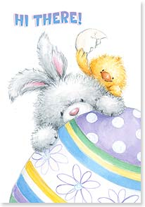 Easter Card - Big wish for an egg-ceptionally fun and happy Easter! | Makiko | 21696 | Leanin' Tree