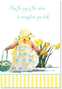 Easter Card - May the joys of the season be everywhere you look! - 21699 | Leanin' Tree