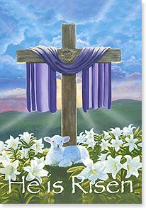 Easter Card - For all that He has overcome, let us be overcome with love. - 21702 | Leanin' Tree