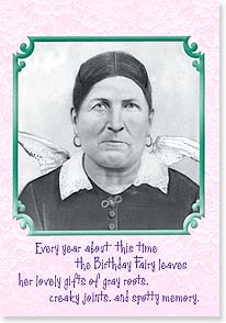 Birthday Card - Vindictive Old Bat | Maggie Mae Sharp | 21715 | Leanin' Tree
