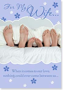 Mother's Day Card - The only thing that could come between us is more love. - 21737 | Leanin' Tree