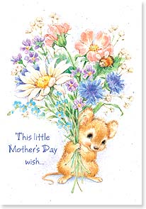 Mother's Day Card - This Mother's Day wish holds a whole lot of love! | Designs by Current | 21738 | Leanin' Tree