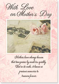 Mother's Day Card - Thank you for all the love and happiness. | Claire Brocato | 21740 | Leanin' Tree
