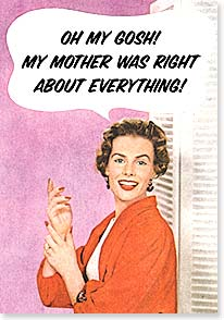 Mother's Day Card - You're a genius! | Dare to Laugh™ | 21743 | Leanin' Tree