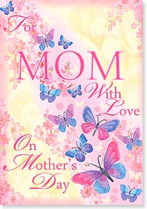Mother's Day Card - Wishing you a day filled with happy moments. | Gerry Murray Designs | 21744 | Leanin' Tree