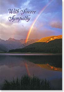 Sympathy Card - Heartfelt thoughts to comfort your soul. | John Fielder | 21826 | Leanin' Tree