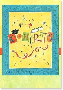 Graduation Card - Enjoy Your Moment, Graduate! | Pat Yuille | 21828 | Leanin' Tree