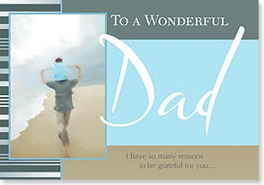 Father's Day Card - I am grateful for you. - 21834 | Leanin' Tree