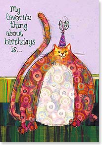 Birthday Card - ...everything...especially the cake! | Robbin Rawlings | 21887 | Leanin' Tree