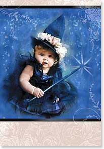 Halloween Card - Have a wonderfully magical Happy Halloween! | Valerie Tabor Smith | 21923 | Leanin' Tree