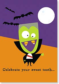 Halloween Card - ...and have a Happy Halloween! | Michael Rhoda | 21930 | Leanin' Tree