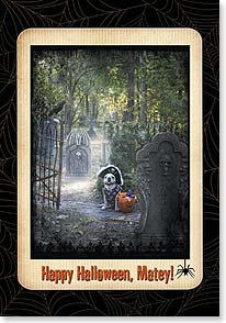 Halloween Card - May there be lots about this holiday to shiver your timbers | Lisa Jane | 21936 | Leanin' Tree