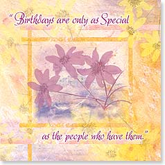 Birthday Card - Wishing You An Especially Wonderful Birthday | Bee Sturgis | 23138 | Leanin' Tree