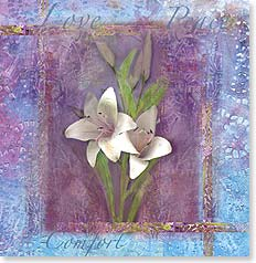 Sympathy Card - With Sympathy | Bee Sturgis | 23179 | Leanin' Tree