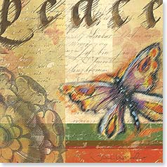 Praying For You Card - Praying for your peace today w/ 2 Thessalonians 3:16 | Julie Ueland | 23294 | Leanin' Tree