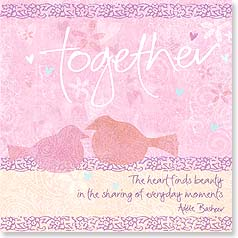 Anniversary Card - Together the Heart Finds Beauty | Intrinsic by Design® | 23298 | Leanin' Tree