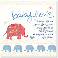 Baby Congratulations Card - Your precious new baby | Intrinsic by Design® | 23299 | Leanin' Tree