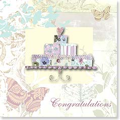 Wedding Card - Wedding Gifts of Love and Laughter | Jane Kitching | 23306 | Leanin' Tree