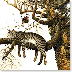 Birthday Card - Have a nice relaxin' day! Happy Birthday | Charles Wysocki | 23343 | Leanin' Tree