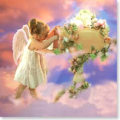 Birthday Card - Heaven-sent Birthday Wishes - 23349 | Leanin' Tree