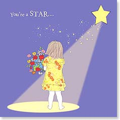 Congratulations Card - You're a Star! | Jayne Oliver | 23419 | Leanin' Tree