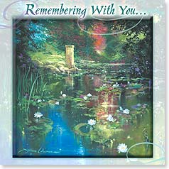 Sympathy Card - Remembering With You | James Coleman | 23423 | Leanin' Tree