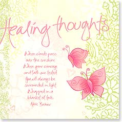 Healing Thoughts Card - Healing Thoughts - 23430 | Leanin' Tree