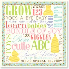 Baby Congratulations Card - Congratulations on Your New Baby | Pela Studio | 23442 | Leanin' Tree