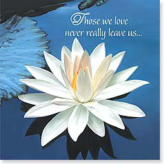 Sympathy Card - ...their memory lives on forever in our hearts. - 23470 | Leanin' Tree