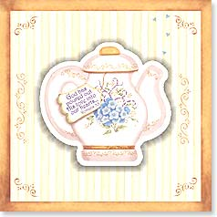 Birthday Magnet Card - With Scripture | The Warmth of Gods Love | Karla Dornacher | 24017 | Leanin' Tree