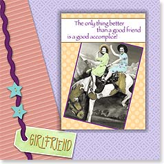Birthday Magnet Card - Partners in Crime | Found Image Press | 24027 | Leanin' Tree