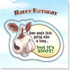 Birthday Magnet Card - No, It's Snot | Ben Crane | 24033 | Leanin' Tree