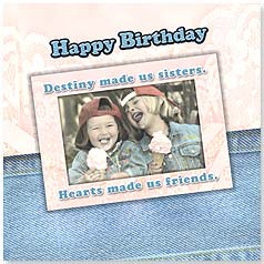 Birthday Magnet Card - Destiny Made Us Sisters | Karen Frasco | 24034 | Leanin' Tree