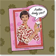 Birthday Magnet Card - Drinky-Poo for You? | Postmark Press Inc. | 24041 | Leanin' Tree