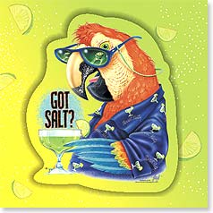 Birthday Magnet Card - Got Salt? | Illustrated Escapes, Inc. | 24049 | Leanin' Tree