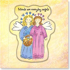 Friendship Magnet Card - Everyday Angels | Bee Sturgis | 24056 | Leanin' Tree