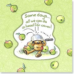 Encouragement Magnet Card - Head For Cover | Rory Tyger | 24064 | Leanin' Tree