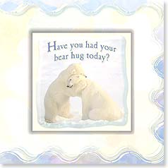 Encouragement Magnet Card - Need A Hug? - 24066 | Leanin' Tree