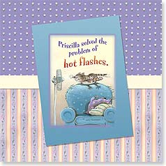 Birthday Magnet Card - Hot Flashes | Gary Patterson | 24094 | Leanin' Tree