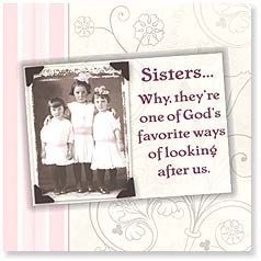 Friendship Magnet Card - The Blessing of Sisters | Maggie Mae Sharp | 24097 | Leanin' Tree