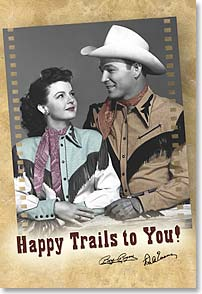 Magnet - Happy Trails | Roy Rogers | 25538 | Leanin' Tree