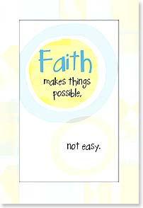 Magnet - Faith Makes Things Possible - 25934 | Leanin' Tree