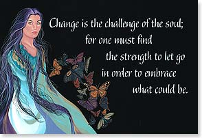 Magnet - Change is the Challenge of the Soul | Traci Rabbit | 25981 | Leanin' Tree
